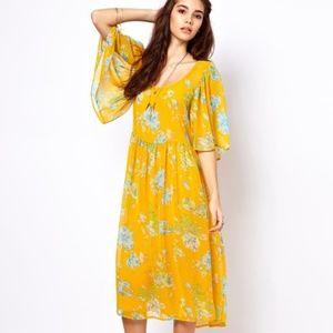 ASOS floral printed dress size 8